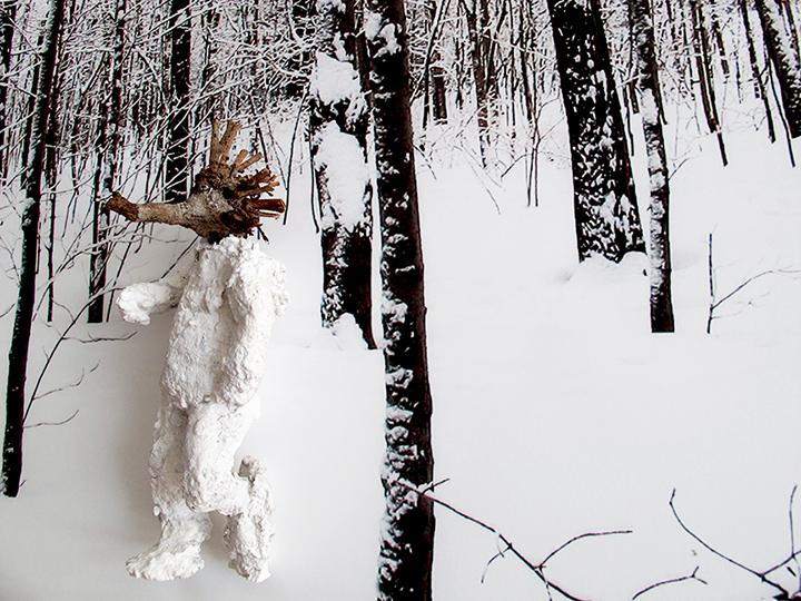 un lieu dans la neige 2014 impression jet d'encre/papier 30x40cm